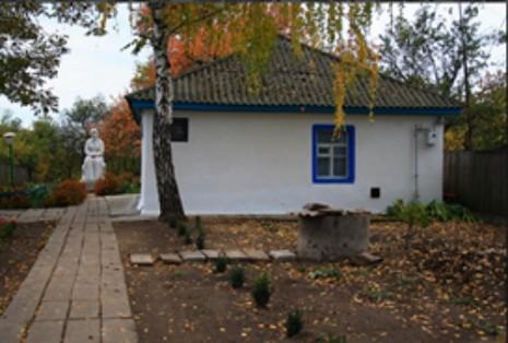 Дом Екатерины Белокур в Богдановке