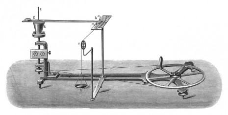 Прибор И. Пулюя для определения механического эквивалента теплоты