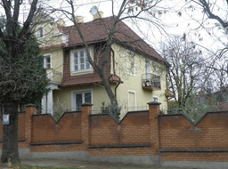Улица Панаса Мирного в Киеве