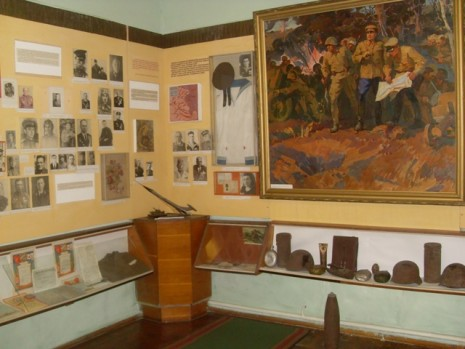 Музей Михаила Кирпоноса в с. Вертиевка