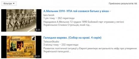 Андрій Мельник на Youtube