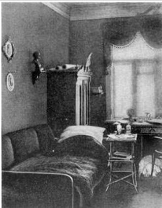 Рабочий кабинет М. Старицкого