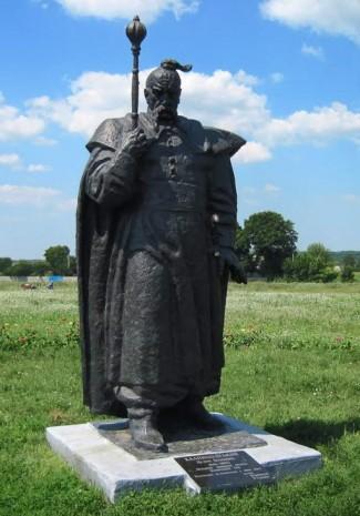 Памятник Петру Колнашевскому в с. Петраковка (Сумская обл.)