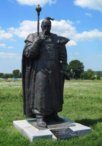 Пам'ятник Петру Колнашевському в с. Петриківка (Сумська обл.)