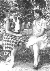 Зоя Равич и Елена Телига