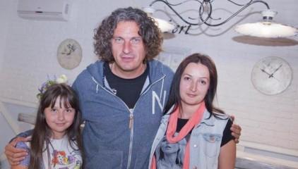 Дочь и жена Андрея Кузьменко