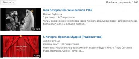 Об Иване Кочерге на Youtube