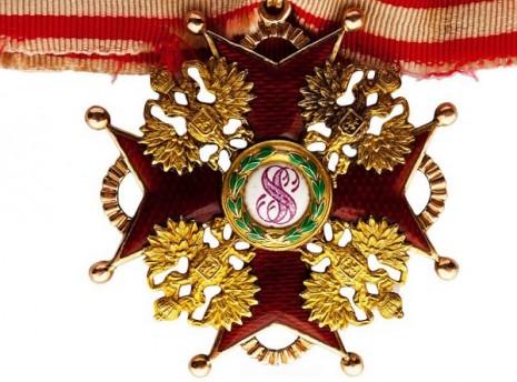 Императорский и Царский Орден Святого Станислава третей степени