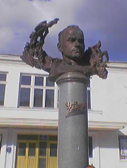 Пам'ятник Уласу Самчуку в Здолбунові