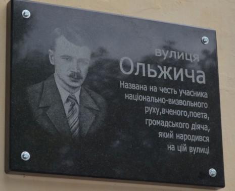 Улица Олега Ольжича в Житомире