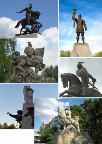 Пам'ятники Князю Святославу