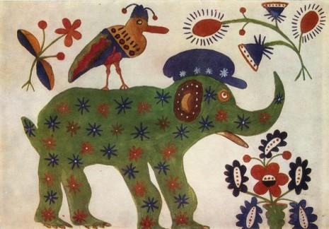 Зелений слон, 1937 год