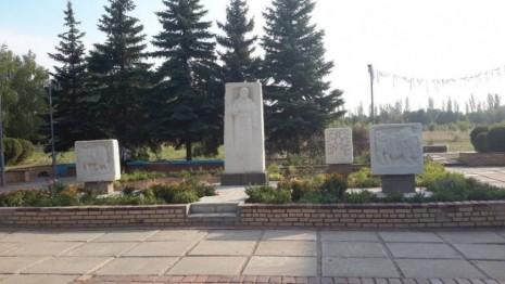 Памятник Марии Примаченко в Краматорске