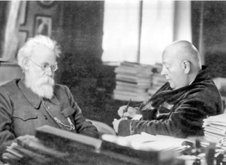 Владимир Вернадский и Александр Ферсман