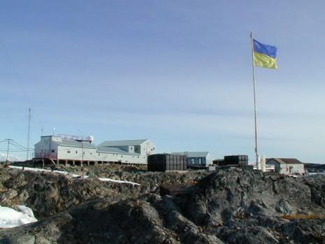 Украинская арктическая станция Академик Вернадский