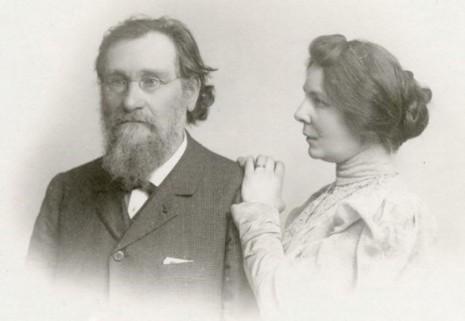 Илья и Ольга Мечниковы, 1905 год