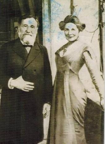 Ілля Мечников з дружиною