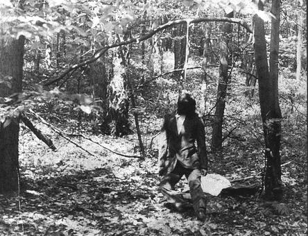 Знайдене тіло Володимира Івасюка. Фото з матеріалів слідства