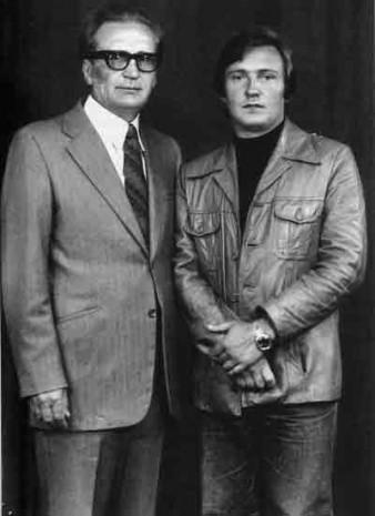 Володимир Івасюк із батьком