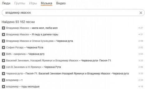 Владимир Ивасюк в Одноклассниках