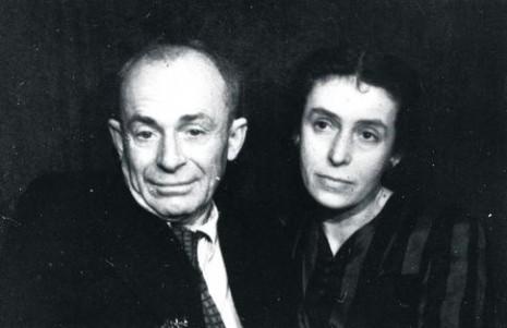 Остап Вишня и Варвара Мелюченко