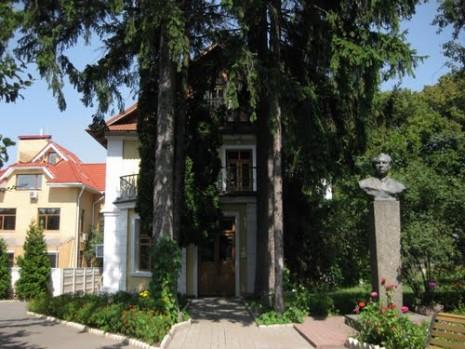 Будинок, де жив Максим Рильський з 1968 року