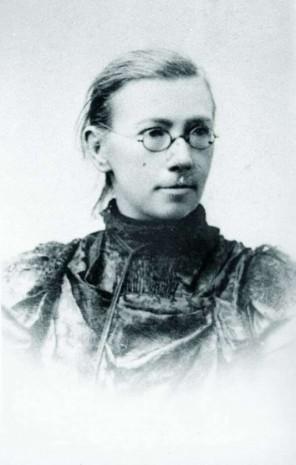 София Русова в молодом возрасте