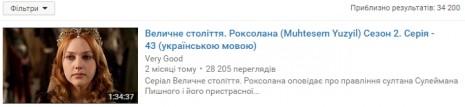 О Роксолане на Youtube
