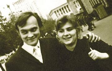 Иван Миколайчук с женой