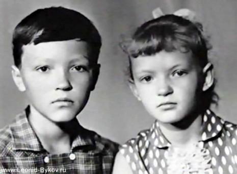 Луиза и Леонид Быковы