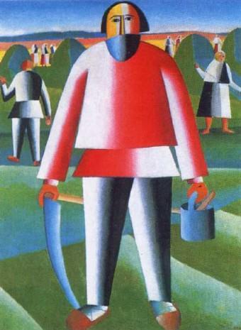 Малевич. На сінокосі. 1928-1929