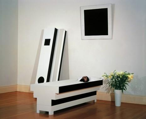 Інсталяція «Похорон Малевича», Леонід Соколов, 2000 рік