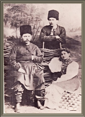 Михайло Старицький, Марія Заньковецька и Марко Кропивницький