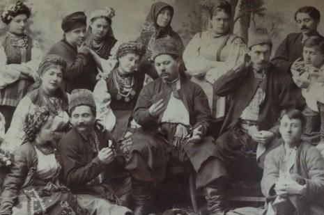 Трупа Кропивницького
